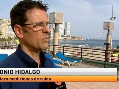 Antonio Hidalgo en Antena 3